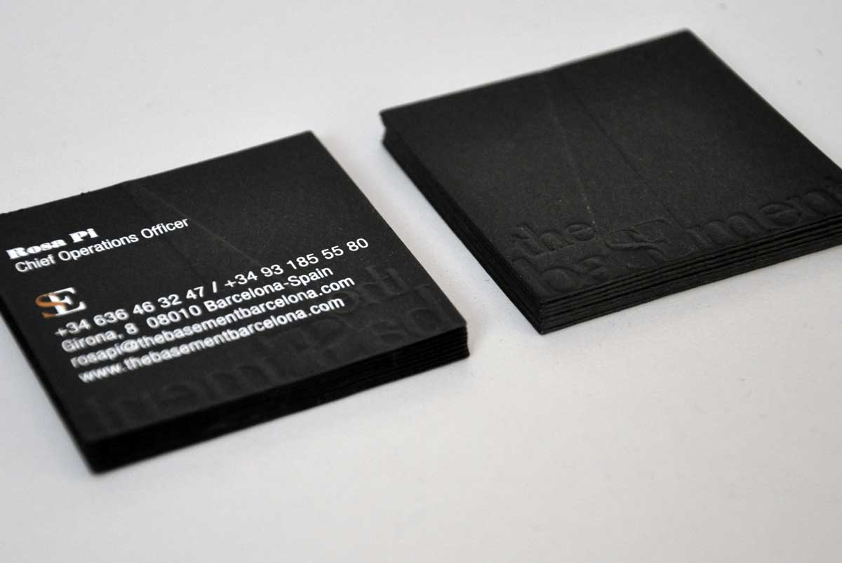 Diseño de tarjetas para empresas. Estudi Marta Sansa. Barcelona