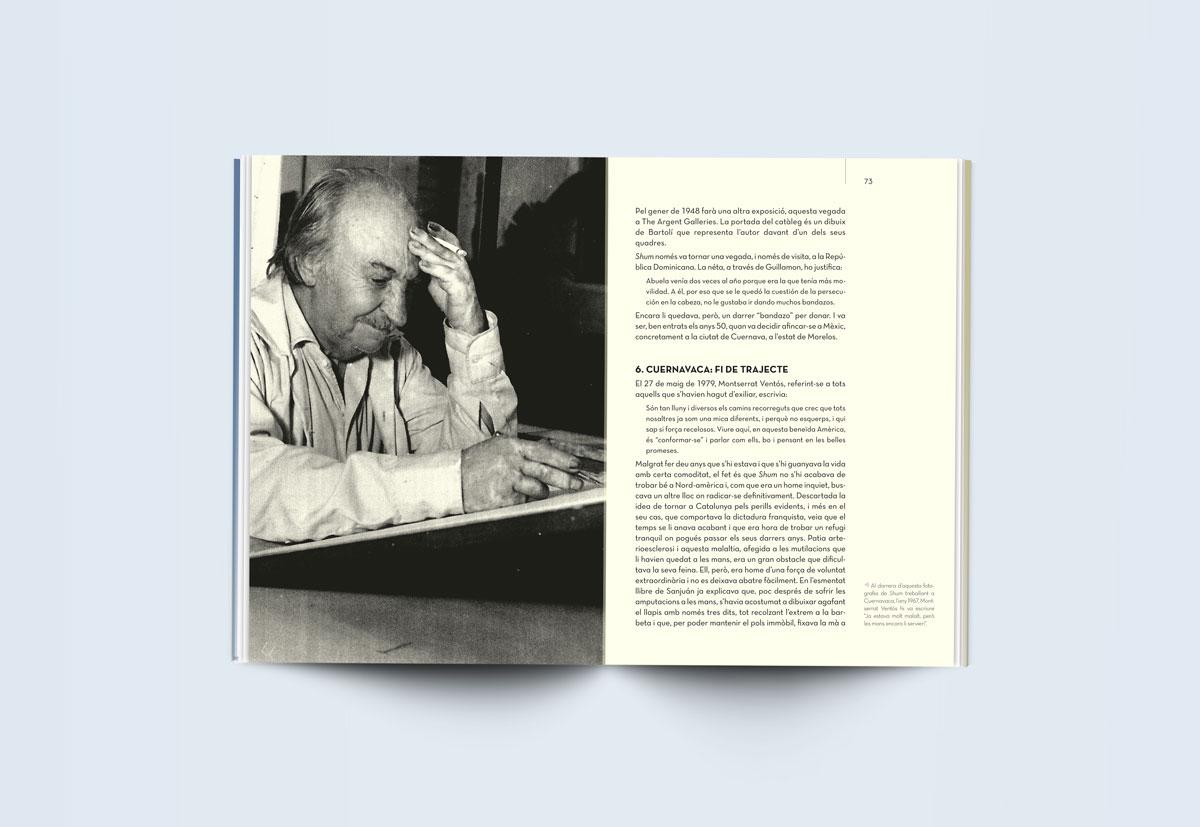 Diseño y maquetación de libros. Estudi Marta Sansa