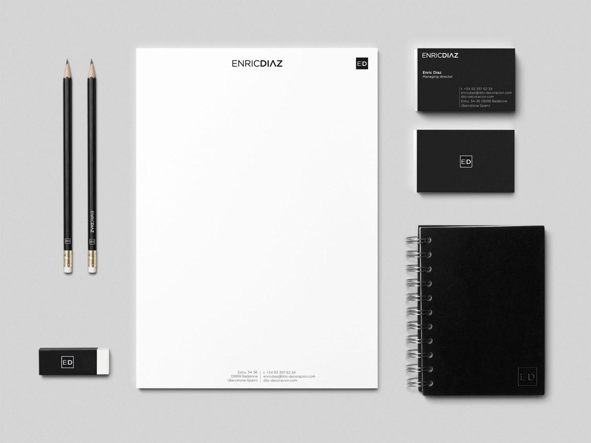 Diseño de imagen corporativa. Estudi Marta Sansa