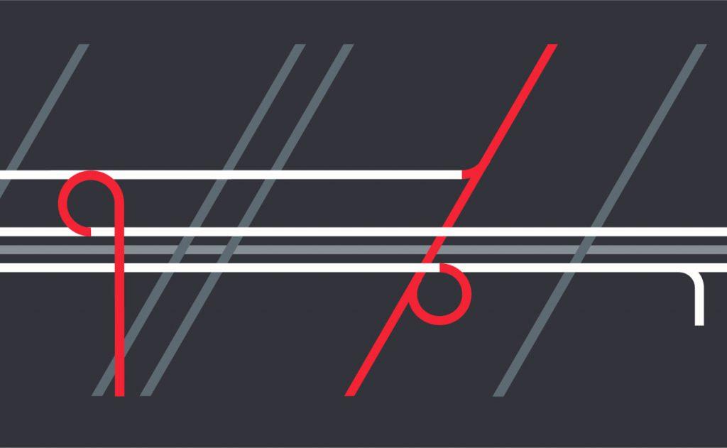 Diseño gráfico para stands. Estudi Marta Sansa