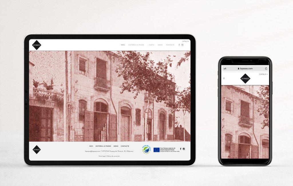 Diseño web para restaurantes. Estudi Marta Sansa
