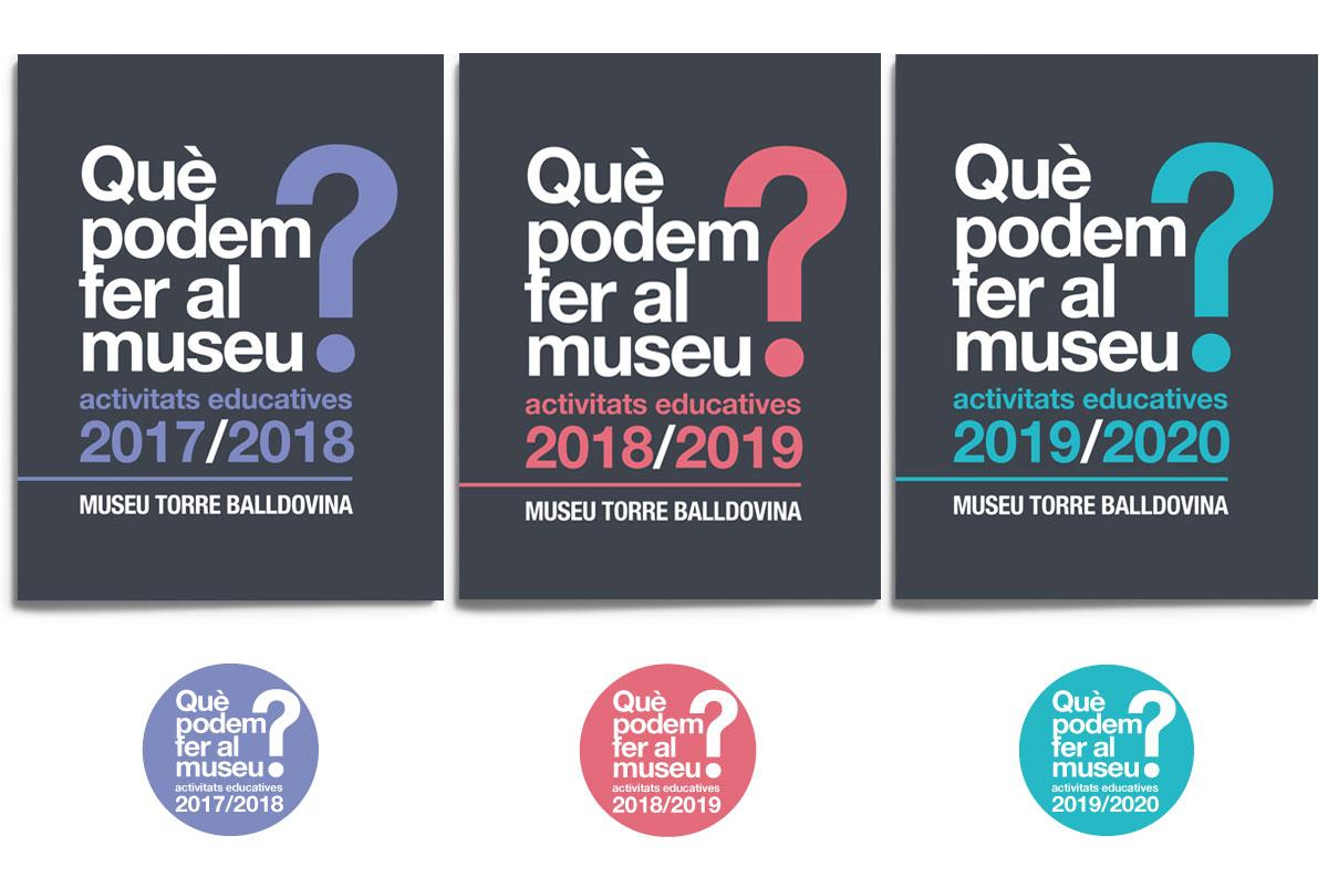 Diseño gráfico de catálogos y folletos. Estudi Marta Sansa