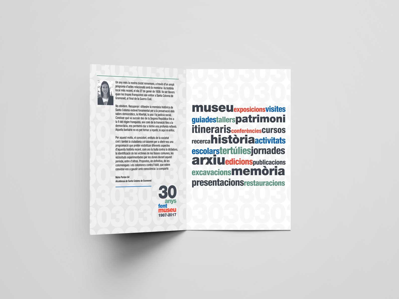Diseño de folletos para instituciones